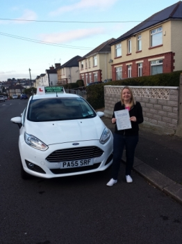 Emma Woodward so pleased and shocked to be holding her Pass Certificate after passing her test today.  A lovely safe drive with only 2 driver faults.  A fantastic achievement as a result of a tremendous attitude to lessons and learning including mastering the left reverse which she proved she could do today.  Emma was rewarded for her patience afte...